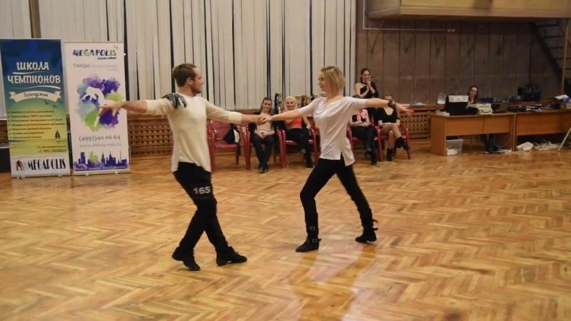 Танцующий Город 2018 - Димас и Света Колмогорловы / JJ Star Champion (Slow)