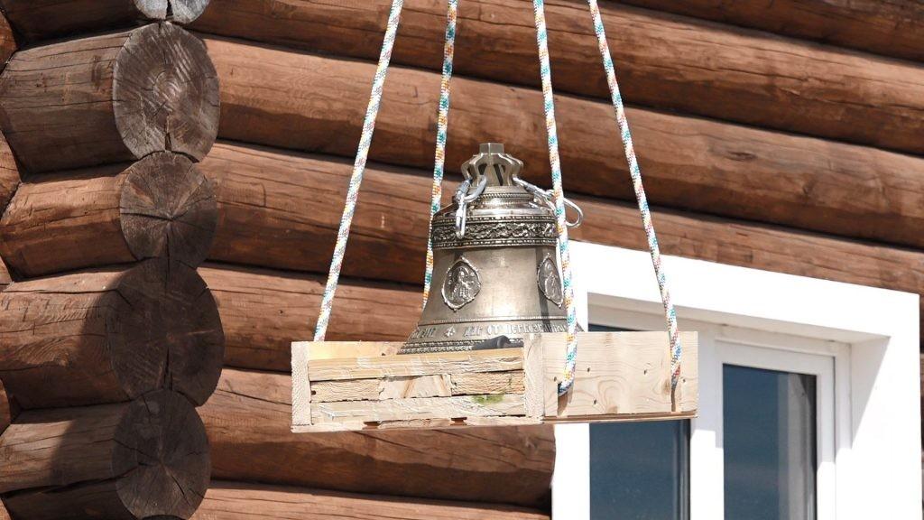 Впервые за 70 лет над просторами села Аннино Рязанской области прозвучал колокольный звон