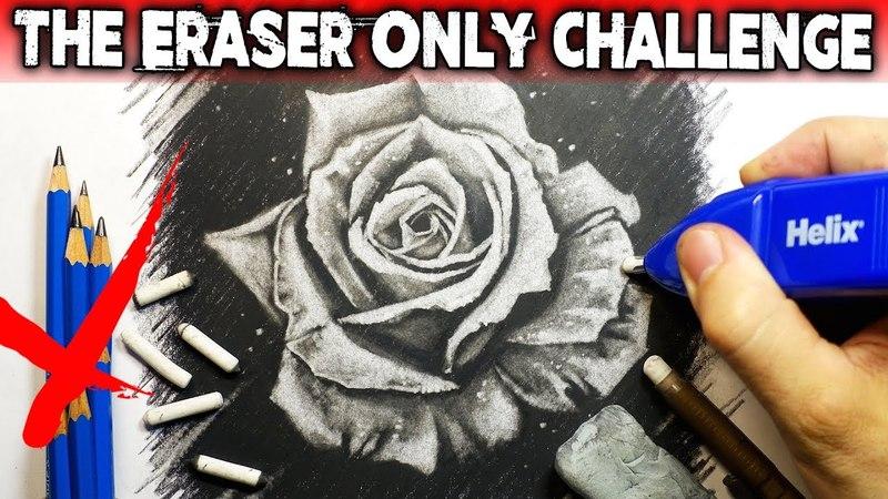 The Eraser ONLY Art CHALLENGE Horror STORY Creepypasta