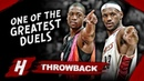 Dwyane Wade vs LeBron James EPIC 1 on 1 Duel Highlights 2006 03 12 Heat vs Cavs MUST WATCH
