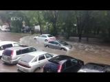 Екатеринбург затопило после дождя