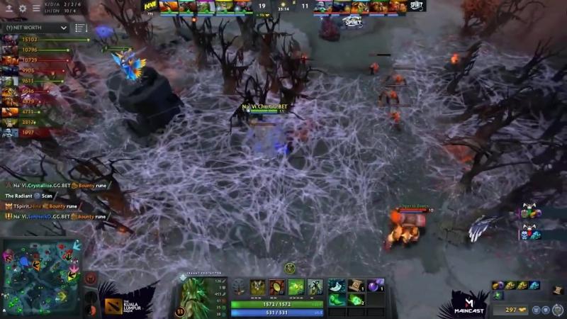 [Dota 2 Stream] 🔴NaVI ПРОТИВ КЕРРИ РИКИ | МАТЧ ДНЯ | NaVI vs Team Sprit Kuala Lumpur Major CIS