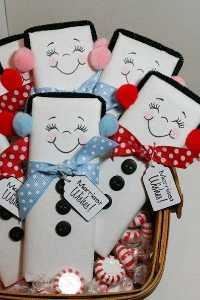 Новогодние шоколадки : Идея для вдохновения…. (6 фото) - картинка