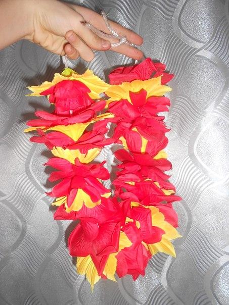 Гавайские венки своими руками