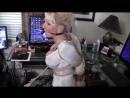 Mature woman in bondage