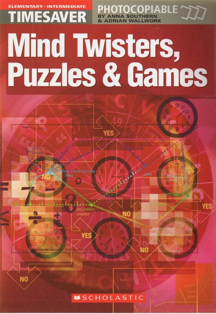 Timesaver: Mind Twisters, Puzzles & Games (Elementary-Intermediate)