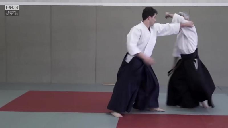 Ushiro eri dori Aikido Bruno Gonzalez Dynamic Aikido
