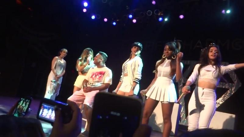 Выступление с песней «All of Me» на концерте в рамках тура «5th Times a Charm Tour» (12 июня 2014 года)