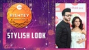 Kundali Bhagya Fame Dheeraj Dhoopar With Wife Vinny Arora At Zee Rishtey Awards 2018