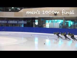 Lockett and Boda take 1000m titles