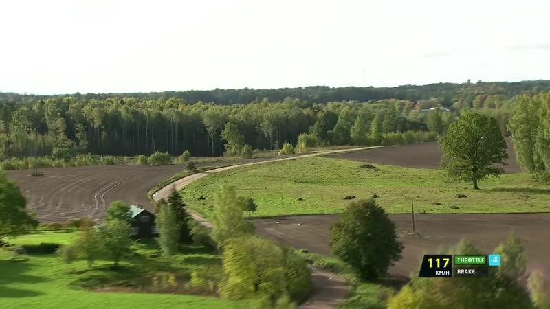 Rally Liepāja 2017 - Kajetanowicz on SS2 with data