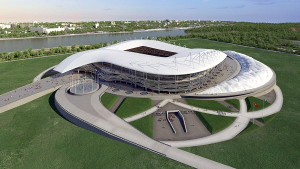 стадион в Ростове к ЧМ-2018