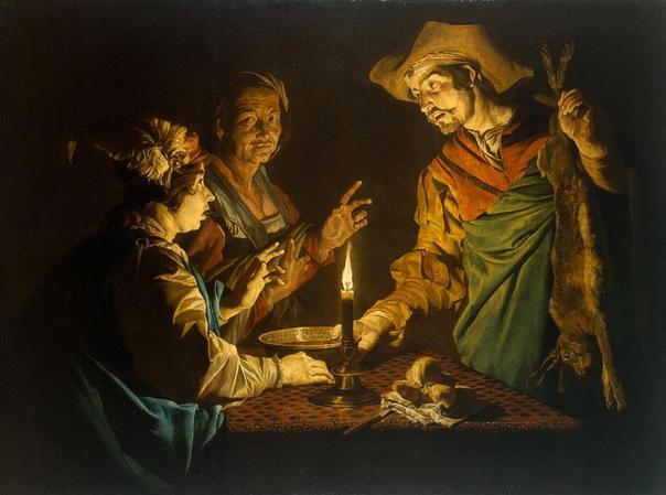 История одного шедевра. «Исав и Иаков», Матиас Стомер