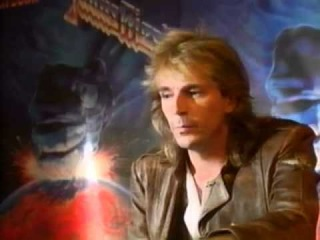 Judas Priest - Hell Bent For Leather - Glenn Tipton talks about song