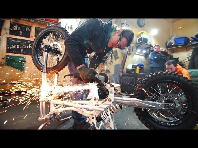 Проект БЕС Часть 2 - Пилим Раму и 80к на ремонт мотора
