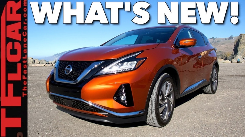 2019 Nissan Murano Update What's New and What's Not