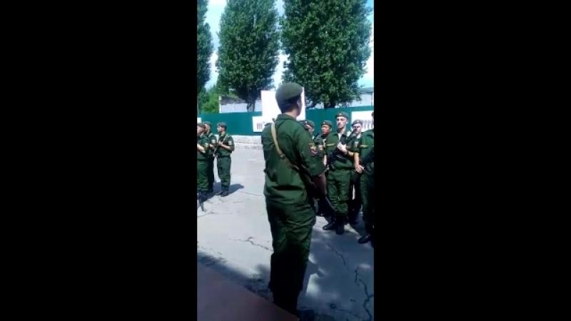 Армия присягу. 2018 г