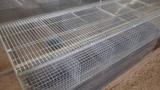 Содержание кроликов в промышленных клетках(1 часть. Откормочная клетка)