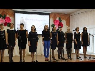 Поют выпускники вокального ансамбля