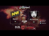 NaVi vs Alliance D2L (West Division) game 1