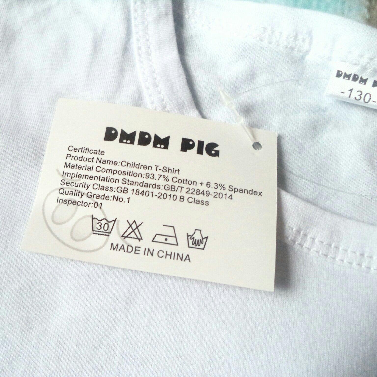 Обзор на детскую футболку и шорты из магазина DMDM PIG Official Store