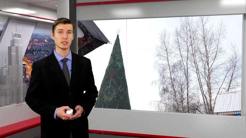 Красноярских водителей массово оштрафовали за неправильный подъезд к городской елке