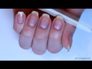 Как сделать квадратную форму ногтей. Как правильно подпиливать ногти _ How to Shape Square Nails