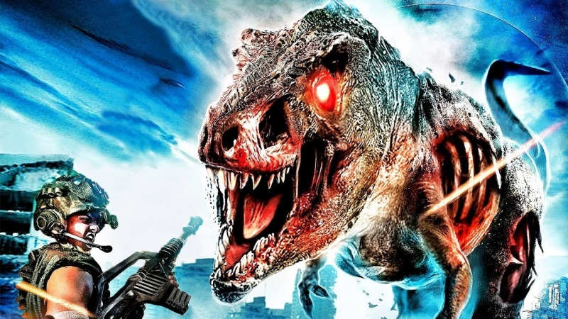 Зи-Рэкс: Зомби Юрского Периода / Z/Rex: The Jurassic Dead (2017) BDRip 720p [vk.com/Feokino]