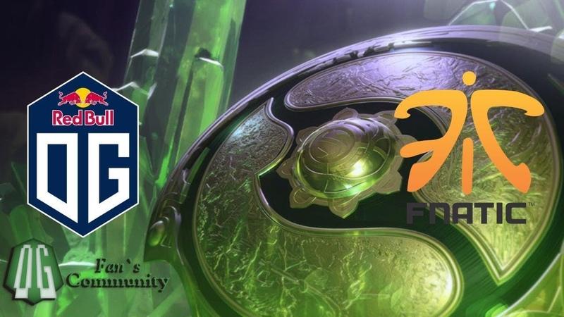OG vs Fnatic - Game 1 - The International 2018 - Group Stage.