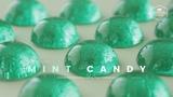 ✧영롱함에 물들다✧ 민트 사탕(하드 캔디) 만들기 : Mint Hard Candy Recipe - Cooking tree 쿠킹트리