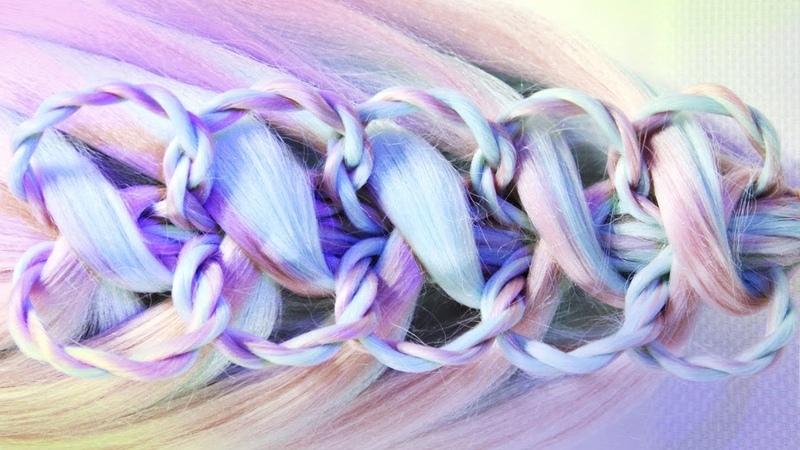 Braid elastic bands Eliza | Hairstyles by REM | Copyright ©
