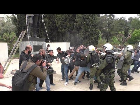 Heftige Zusammenstöße in Athen: Protestler versuchen