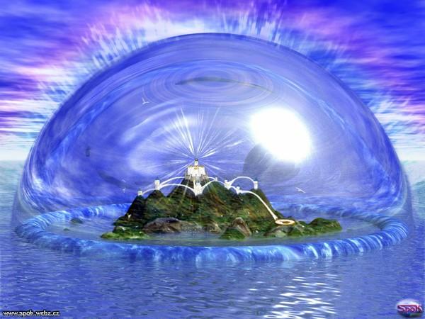 Кристалл атлантов Атлантида, согласно описанию Платона, погибла по собственной вине, нарушив принципы добродетели. Известно, что континент ушел под воду в течение суток, однако точную причину