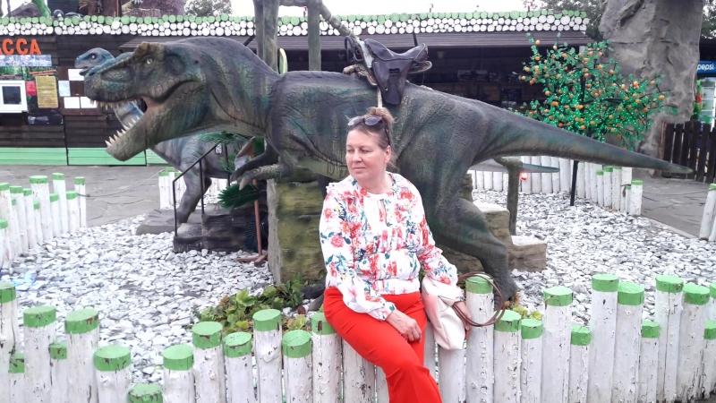 Динозавр и Люда
