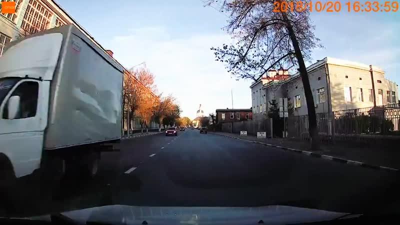 Авария Тула ул. Мосина.