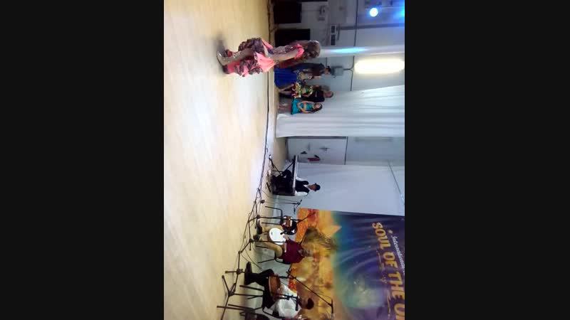 2-е место Импровизация под живую таблу египетского оркестра Al Azdeeka в номинации корона Оссама Шахин на международном фестивал