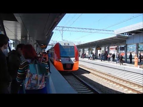 Train trip to Rosa Khutor, Sochi, Russia