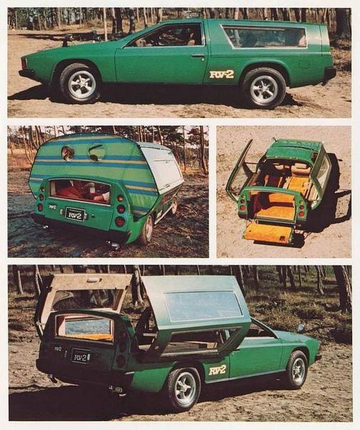 Тоуоtа RV-2 для тех, кто любит выезды на природу. 1972г.