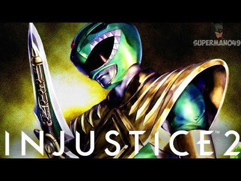 THE GREEN POWER RANGER ATOM FINISHES THE CHARACTER CYCLE - Injustice 2 Character Cycle 19 FINAL