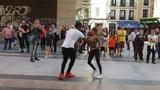 Madrid Timbera l bailando salsa cubana l timba cubana llevando alegr