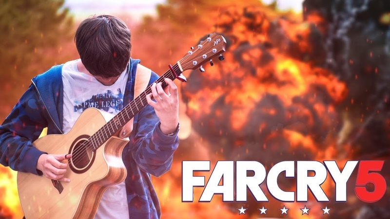 Far Cry 5 Soundtrack Medley on Guitar