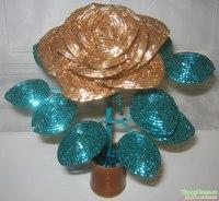 изделия из бисера: цветы, деревья.  Бисер ручная работа.
