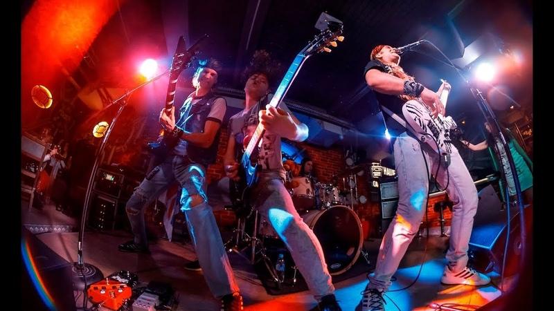 Wild Blood Spark in the Dark Alice Cooper cover Machine Head Club Саратов Live 29 12 2018