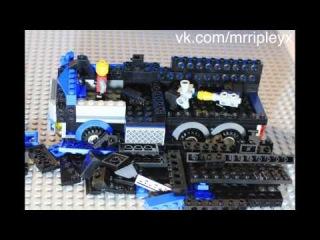 спец машина полиции сборка Lego