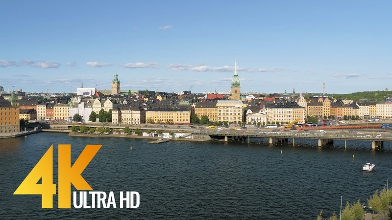 4K Stockholm Sweden Cities of the World Urban Life Documentary Film Part 1