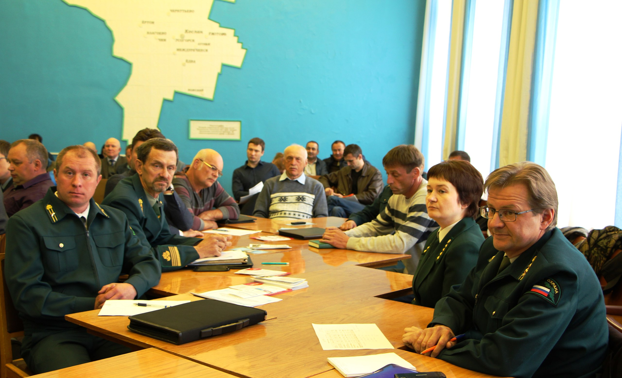 Заседание общественного лесного Совета