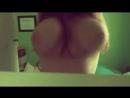 Подруга показала свою большую и упругую грудь (Girlfriends BoobsTits сиськи)