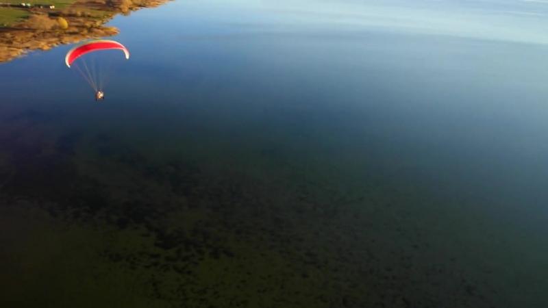 Полет над северным берегом Плещеево озеро