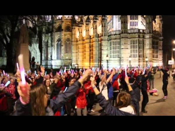 The We Day UK Flash Mob Dance Video   EF Educational Tours Canada
