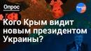 Крымчане о выборах президента Украины
